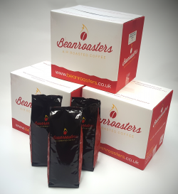 Beanroasters packaging